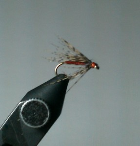 Wet Fly Pattern: Partridge and Orange