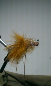 Clear Cure Goo Football Shaped Head Smallmouth Pattern