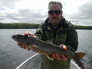 Dad's first Lake Trout